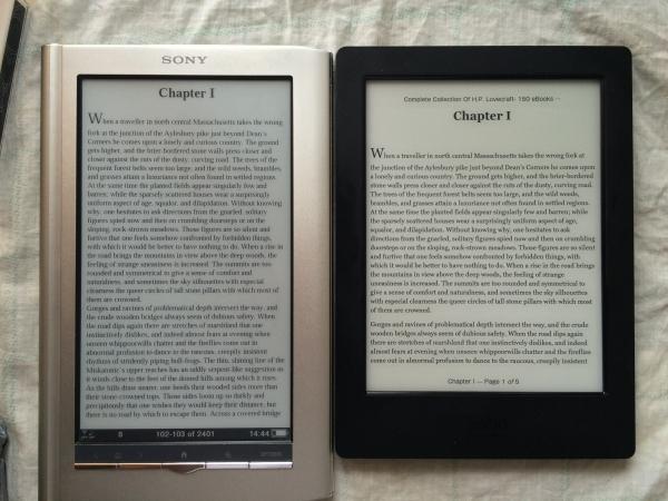 Примерно одинаковые настройки чтения